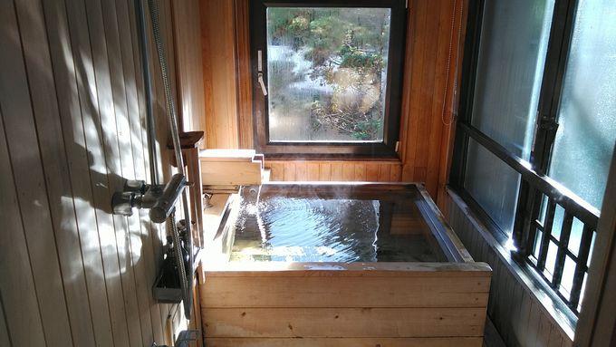 半露天風呂付客室で気ままに「お部屋入浴」