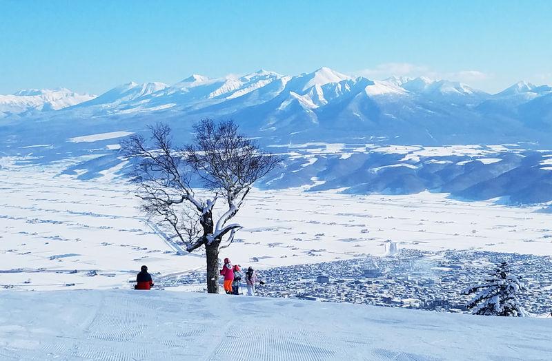 富良野&北の峰・富良野スキー場でパウダーと絶景滑りを満喫