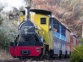 世界で最も小さな鉄道!?修善寺虹の郷で「ロムニー鉄道」に乗ろう