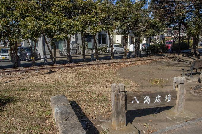 西寒川支線の終点、「西寒川駅」跡地