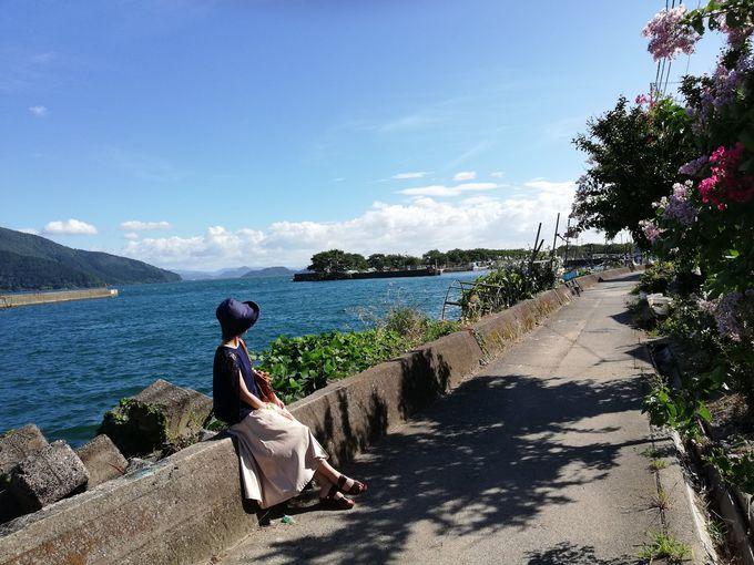 のどかで懐かしい沖島でのんびり散策
