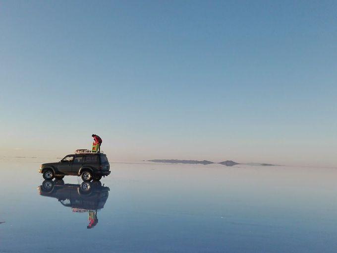 ウユニ塩湖のベストシーズンと鏡張りの条件