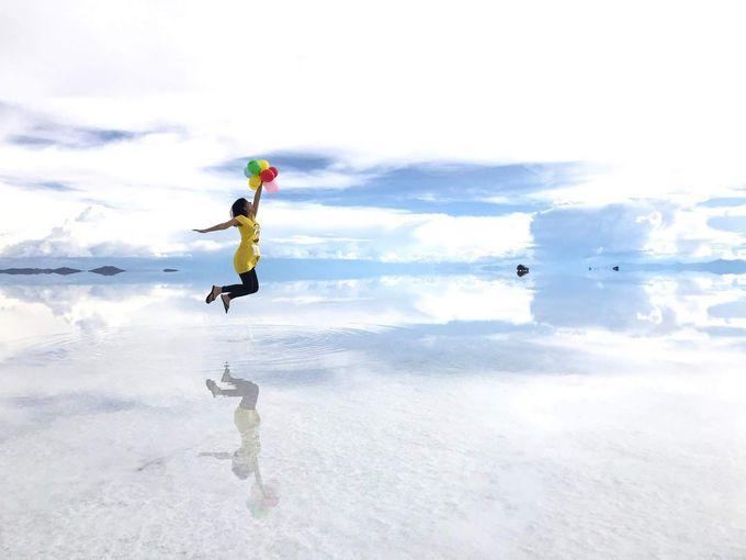 ウユニ塩湖でユニークな写真を撮ろう!写真撮影のコツ