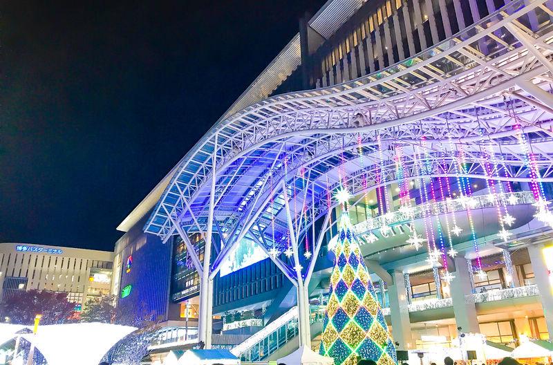 博多駅でイルミネーション!「光の街・博多」とクリスマスマーケット ...
