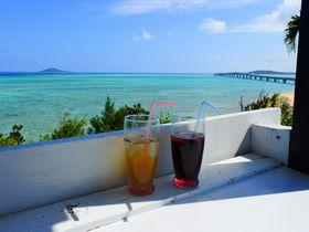 沖縄・池間島の海と絶景を独り占め!隠れ家カフェ「OHAMAテラス」