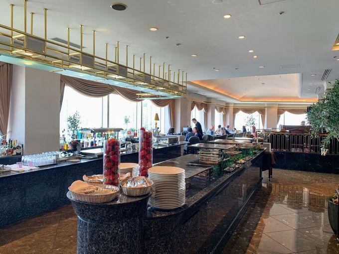「ベイ・ビュー」はホテル28階のフレンチレストラン