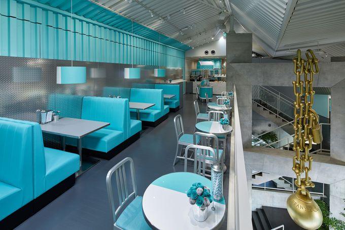 日本で初めてのティファニーカフェ・席の予約はWEBで