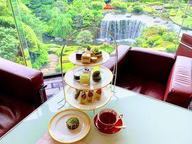 東京・ホテルニューオータニ「抹茶とメロンとチョコレート」アフタヌーンティー