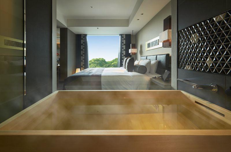 都心でヒノキ風呂の贅沢!東京・ホテルニューオータニ「新江戸ルーム」