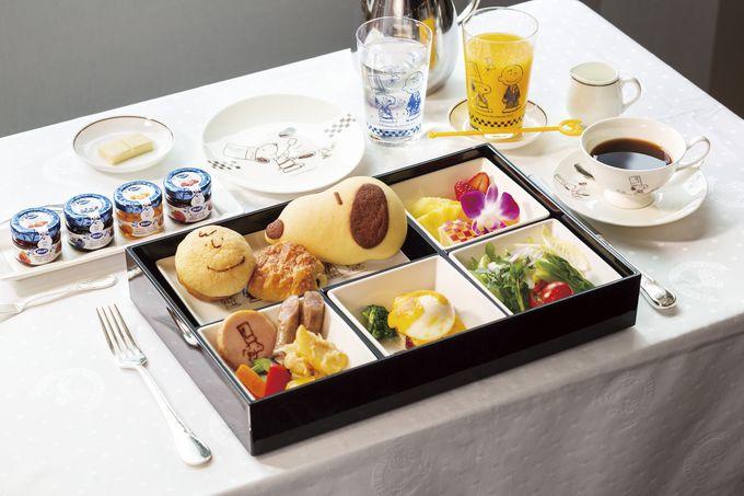 帝国ホテル 東京の味をスヌーピーと一緒にいただく朝食