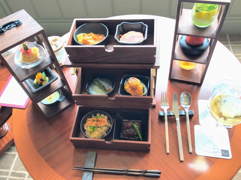 帝国ホテル 東京で楽しむ野点弁当仕立てのフランス料理「BENTO」