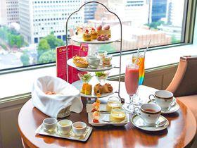 帝国ホテル 東京 アフタヌーンティーで味わうバービーの世界