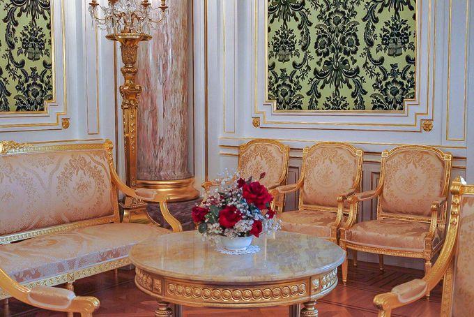 装飾細部にも目を向けると迎賓館見学はより楽しくなる