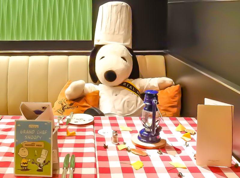 「帝国ホテル 東京」で料理長スヌーピーと楽しむオリジナルメニュー