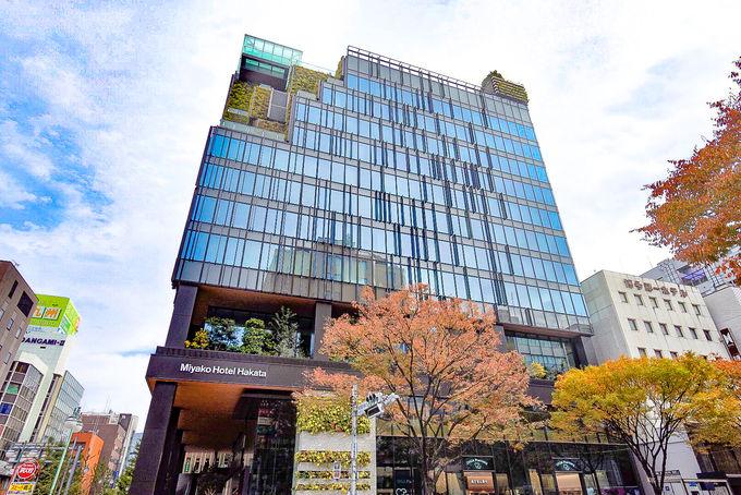 1.都ホテル 博多