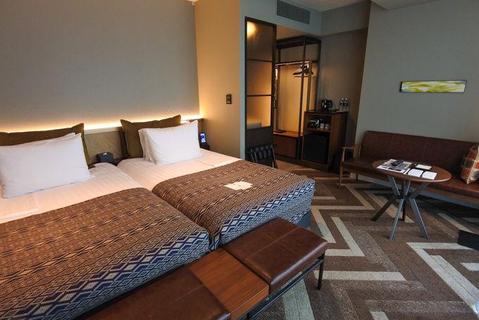 文句なしにオシャレ!海外ホテルのような客室空間