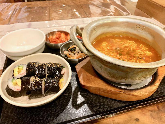 韓流レストランでもショッピング