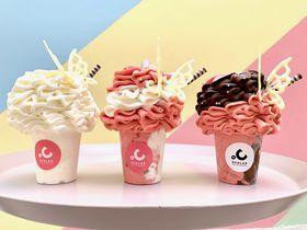 花束みたい!大阪・難波「ディグラボ ソフトクリーム研究所」がすごい