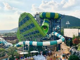 済州島のプール天国「神話ウォーターパーク」はスライダーが最高!