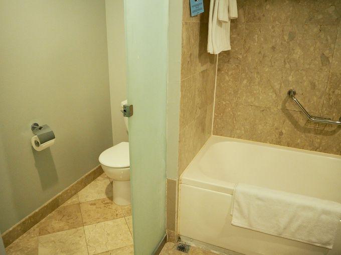 シンプルで使いやすい客室