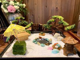 作って食べる箱庭スイーツ!大阪・中之島「Mamezo&Cafe」