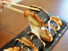 のび〜るチーズにちびっこキンパ!?大阪コリアンタウンのキンパ5選