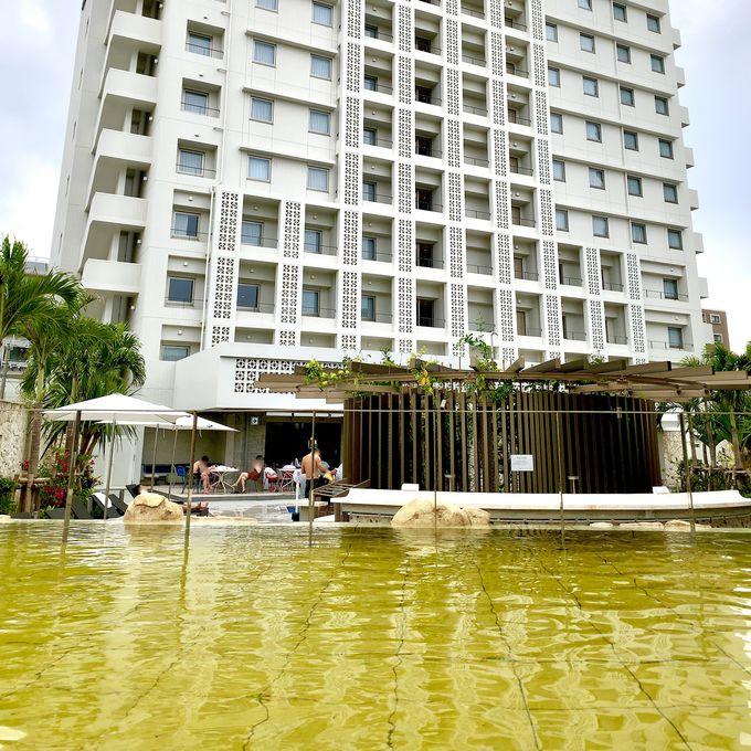 宿泊者は無料!プールと天然温泉でリゾート気分を満喫