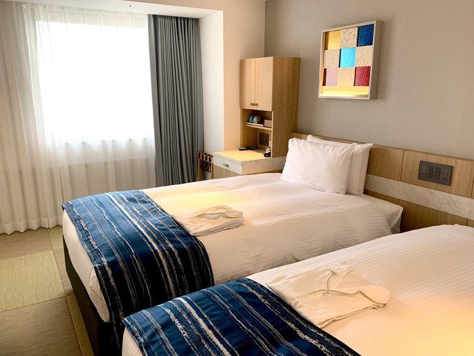 琉球畳が気持ちいい!バリエーション豊かな客室