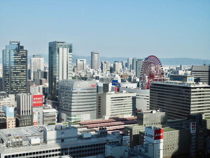 アクセス抜群!グランフロント大阪にある高級ホテル