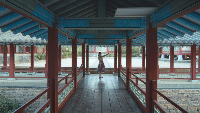 風景や空間を活かしたSELFIE(自撮り写真)が「#韓国っぽ」