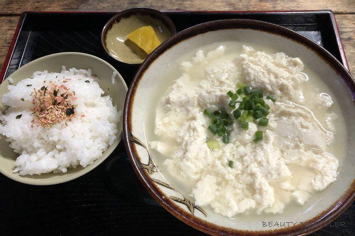 作りたてのゆし豆腐セットは選べる4サイズ