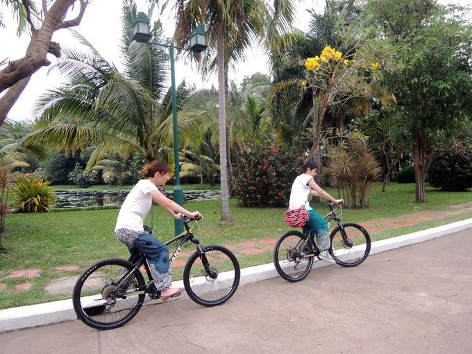 自転車レンタルあり、送迎や観光の手配もおまかせ