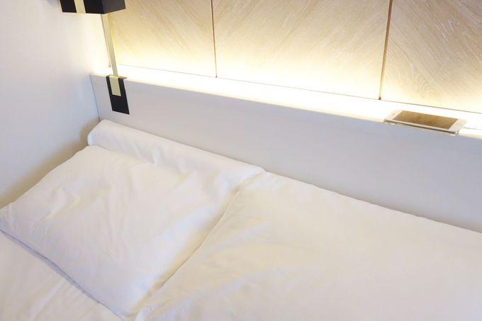 快眠を誘うベッドや枕、18歳以下は添い寝無料