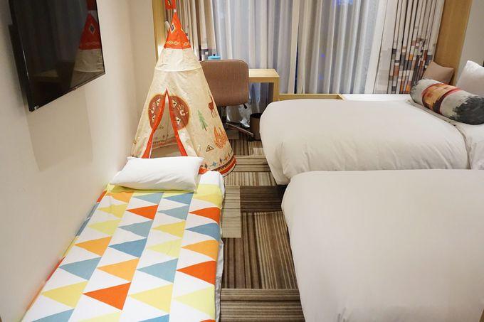 デザインと機能性を両立した客室