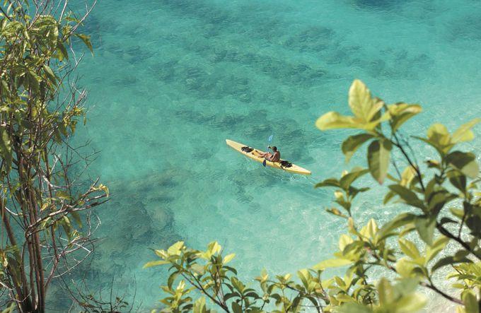海もプールも!絶景インフィニティプール