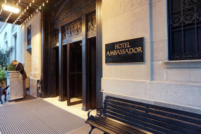 高級住宅街のおしゃれブティックホテル