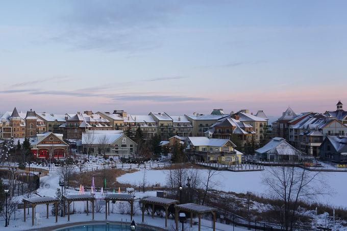 カナダ情緒満点!心温まる山のリゾートホテル