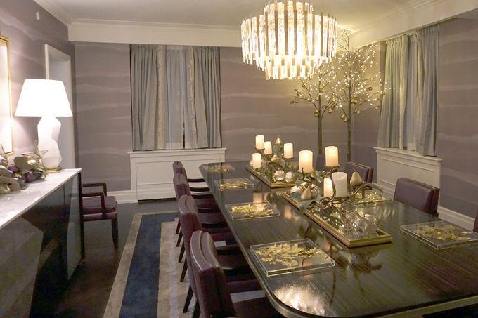 アールデコ調のモダンで快適な客室