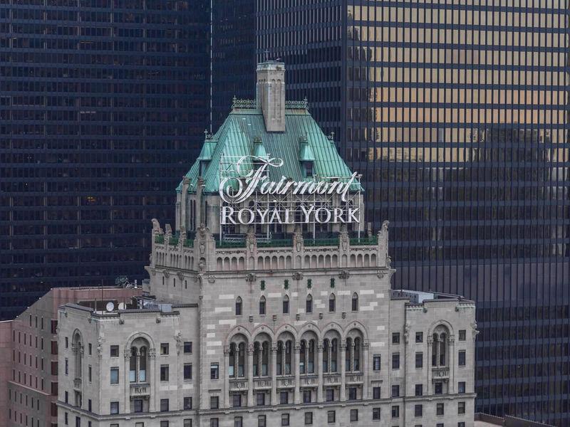 トロント「フェアモント・ロイヤル・ヨーク」英国王室も愛用のホテル