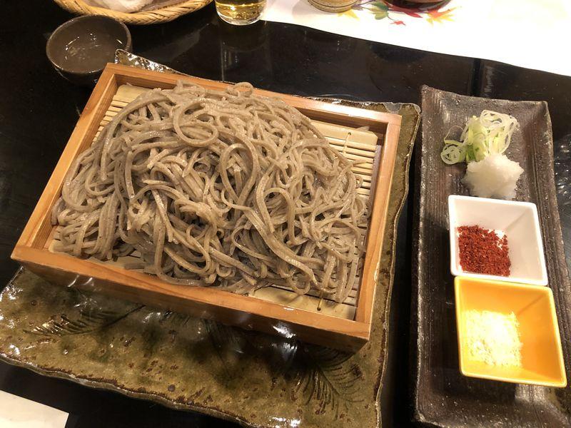 館主の手打ち蕎麦が名物!長野・松本「旅館すぎもと」