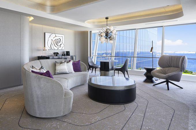 ハワイと横浜が融合した都会のリゾートホテル