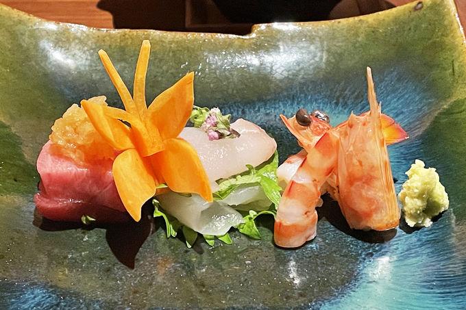 目にも舌にも麗しい日本料理