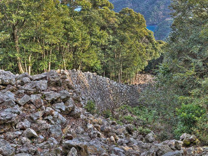金田城跡 〜 特別史跡の古代山城