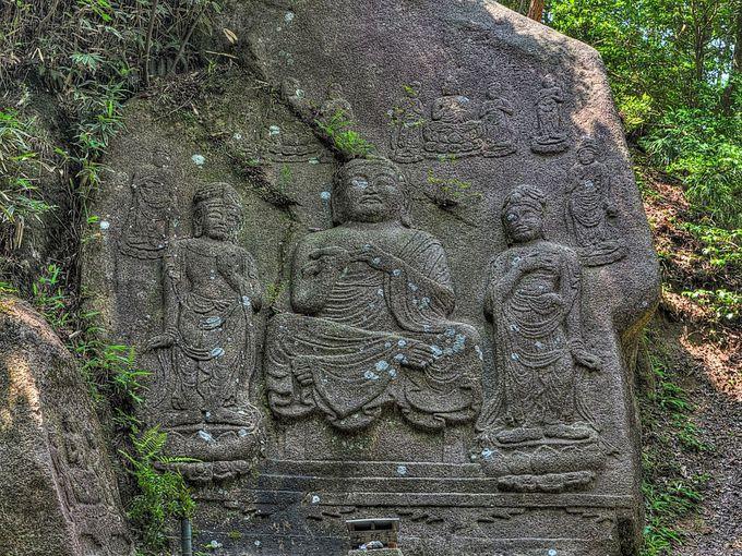 狛坂磨崖仏 〜 たどりつくのが大変だけど必見の石仏
