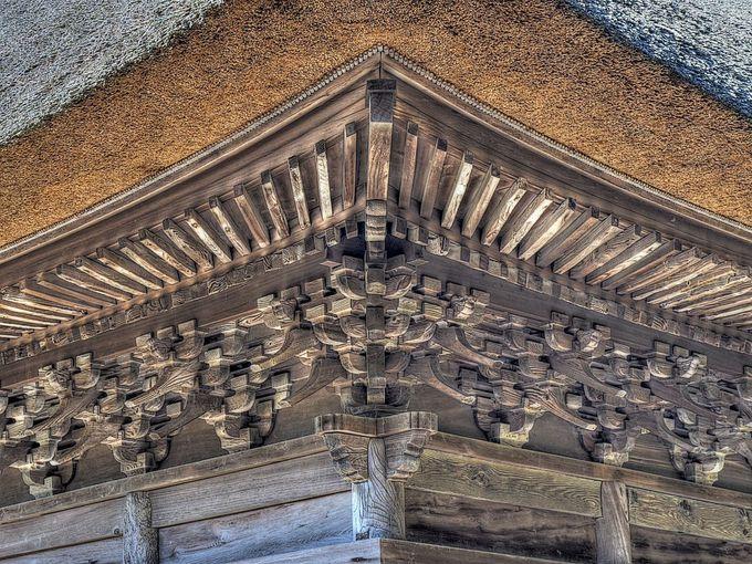 本格的な禅宗様建築の西願寺阿弥陀堂