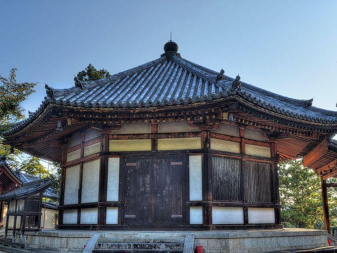 西円堂 〜 もうひとつの八角円堂