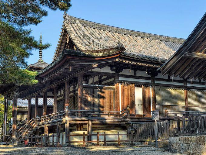 聖霊院 〜 天平期の僧房に連なる鎌倉期の仏堂