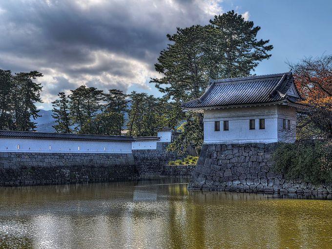 小田原城の旅はまず城址公園から