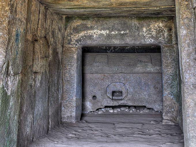精巧な石室をもつ宝塔山古墳