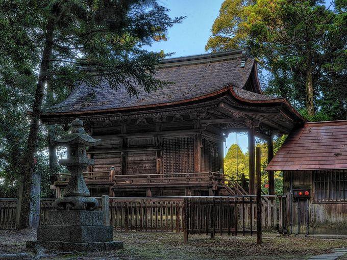 あわせて見学したい石城神社本殿